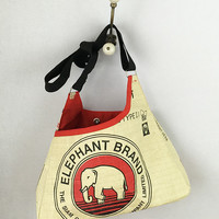 Elephant Triangle Bag