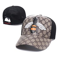 Womens Mens Queen Bee GG Hat Gucci Baseball Cap Gift