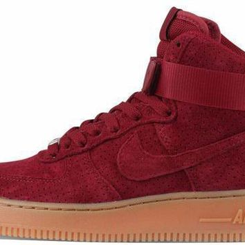 BC SPBEST Nike Air Force 1 Mid Team Red