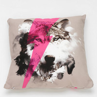 Robert Farkas For DENY Wolf Rocks Pillow - Urban Outfitters