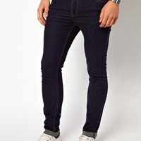 Cheap Monday Jeans Tight Skinny Fit In Very Stretch One Wash at asos.com