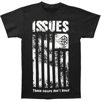 Issues Men's  These Colors Don't Bleed T-shirt Black Rockabilia