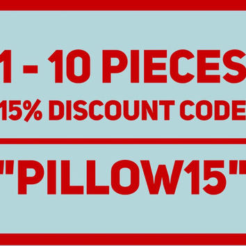 15% Discount Code for all pillow covers, Velvet Pillow, Kilim Pillows, Linen Pillow, Throw Pillows, Wool Pillows, Green Velvet Pillow Covers