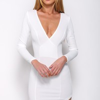 Carry On Dress White
