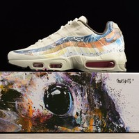 Best Online Sale Dave White x size? x Nike Air Max 95 Stone / Thunder Sport Running Shoes 872640-200
