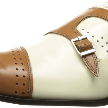 Giorgio Brutini Men's Carbonne Slip-on Loafer Tan/Bone 12 D(M) US '