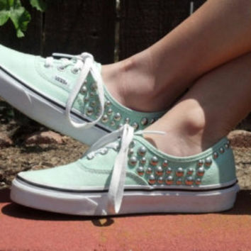 Any Color Studded Vans