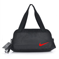 """Nike"" Pattern Casual Travel Bag Handbag The Single Shoulder Bag Black"