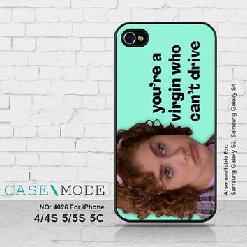 iPhone 5 case iPhone 5C Case, iPhone 4 Case, iPhone 5s Case, iPhone Case, Phone Cases, Brittany Murphy Clueless, Case for iPhone - 4026