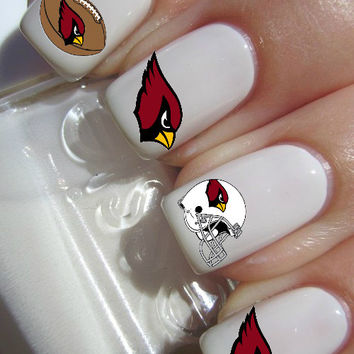 NFL Arizona Cardinals Football Nail decal Tattoos