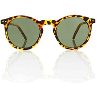 OMalley Green Keyhole Sunglasses