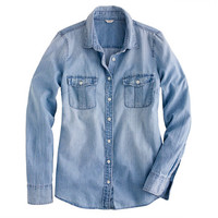 Womens Denim & Chambray : Womens Shirts & Tops | J.Crew