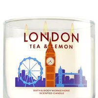 3-Wick Candle London Tea & Lemon