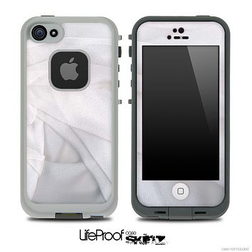 Creased Sheets Skin for the iPhone 5 or 4/4s LifeProof Case