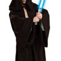 Star Wars Jedi Super Deluxe Adult Robe, One Size Costume:Amazon:Clothing