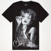 Sullen Macko Mens T-Shirt Black  In Sizes