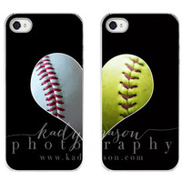 The Original Best Friends Baseball & Softball LOVE cases