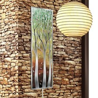 Eucalyptus Dusk II Wall Sconce Light (8810) - Illuminada