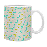 Allyson Johnson Bright Musical Notes Coffee Mug