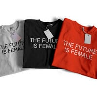 Sale! The Future is Female T-shirt- Feminism T-Shirts - Feminist T-shirts - Feminist - Women's Rights Shirts - Women's Movement Shirts