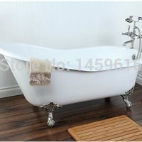 "60"" Cast Iron Slipper Clawfoot Tub"