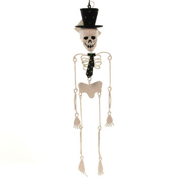 Halloween Dancing Skeleton Ornament Halloween Ornament
