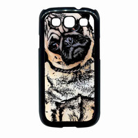 pugs alot dog For Samsung Galaxy S3 Case *02*