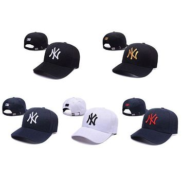Fashion Hot New York Yankees NY Baseball Cap Adjustment Snapback Sport Hat