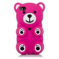 3D Cartoon Silicone Polar Bear Protective Cover Case Apple iPod Touch 5 5th Gen