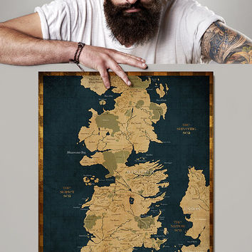 Best Westeros Map Products on Wanelo