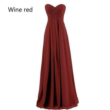 2018 New Fashion Women Dress  Long Dress  Wedding Dress Bridesmaid Dress Party Dress Off Shoulder Long Evening Dress 20 Colors P