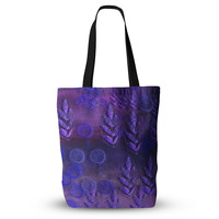 "Marianna Tankelevich ""Summer Night"" Purple Lavender Everything Tote Bag"