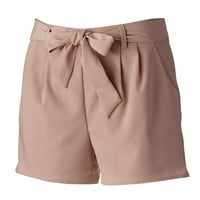 LC Lauren Conrad Pleated Shorts - Women's