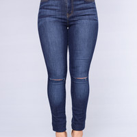 Night Crawler Jeans - Medium Wash