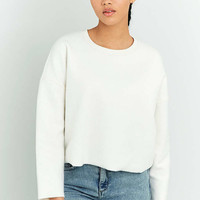 Urban Outfitters Fluffy Cropped Sweatshirt - Urban Outfitters