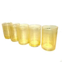 Yellow Tinted Drinkware