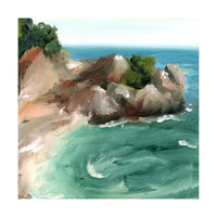Big Sur Wall Art Prints by Lindsay Megahed | Minted