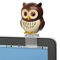 ThinkGeek :: USB Robot Owl