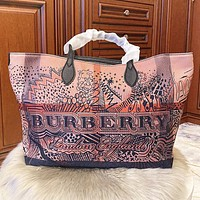 Burberry Fashion new letter print leather shoulder bag handbag