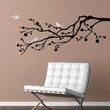 Branch with birds - Vinyl Wall Decal Design Art