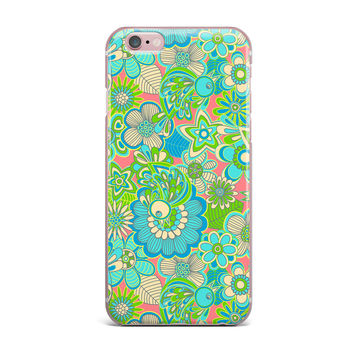"Julia Grifol ""Welcome Birds to my Garden"" iPhone Case"