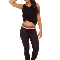 Cleo Activewear Pants - Coral