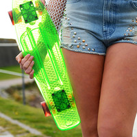 Penny Board - Pear Green - Other - Women - Modekungen