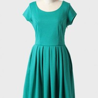 holly golightly indie bow back dress by Fleet Collection at ShopRuche.com