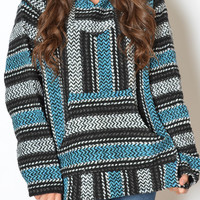 Baja Hoodies - New! Turquoise for Women - The World's Greatest Baja Hoodie Selection | Drug Rug