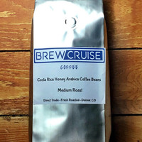 Costa Rica Fresh Roasted Arabica Coffee Beans Direct Trade 1lb Bag Brew Cruise Coffee