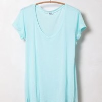Rolled High-Low Tee - Anthropologie.com