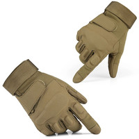 GL01 Mens Outdoor Military Tactical Gloves Full Finger M-XL Airsoft Foam Knuckle Protection