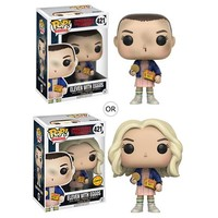 Stranger Things Eleven with Eggos Pop! Vinyl Figure - Funko - Stranger Things - Pop! Vinyl Figures at Entertainment Earth
