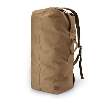 Huge Travel Bag Large Capacity Men backpack Canvas Weekend Bags Multi functional Travel Bags